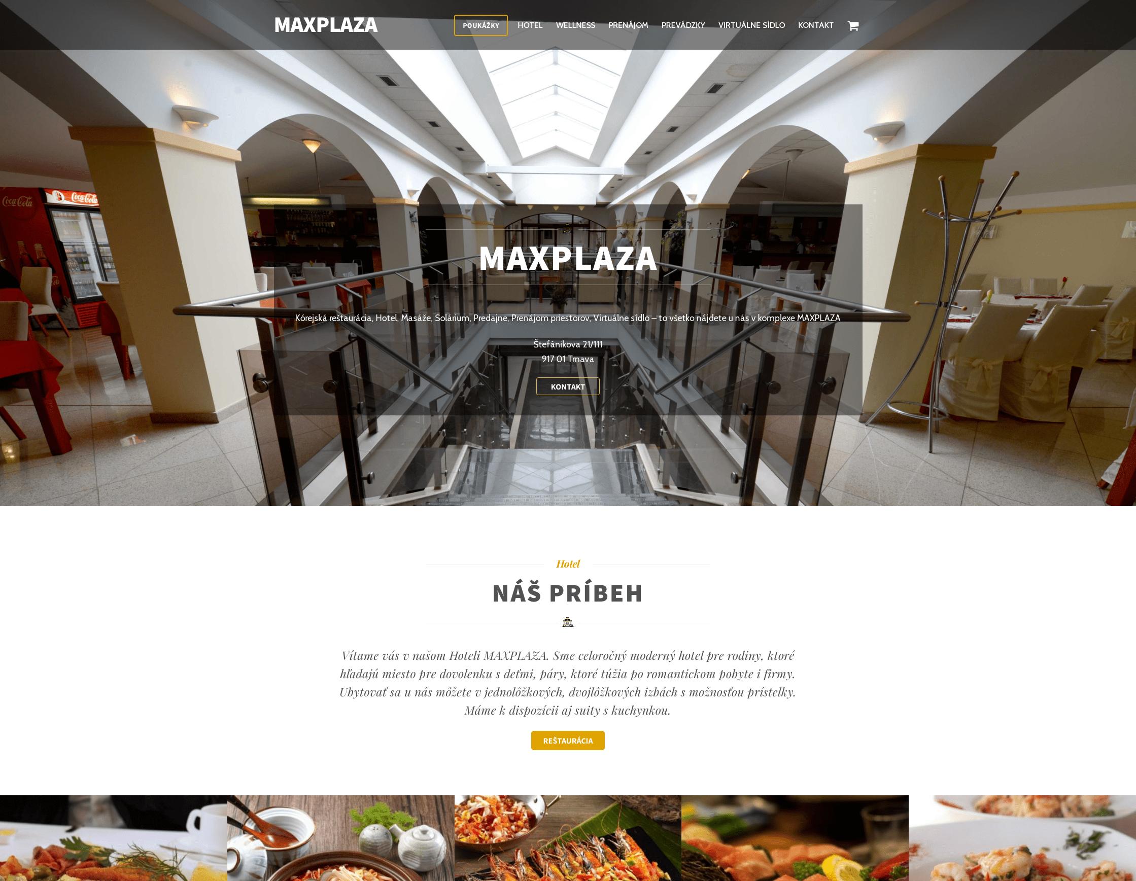 MAX PLAZA Trnava - Viac ako len hotel
